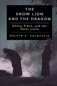 The Cover of The Snow Lion and the Dragon eScholarship Edition